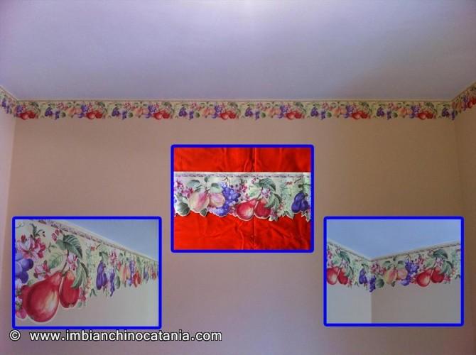 Bordo decorativo per cucina pittura decorazione - Pittura per cucine ...